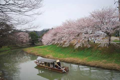 加賀市イメージ写真-城下町川下り